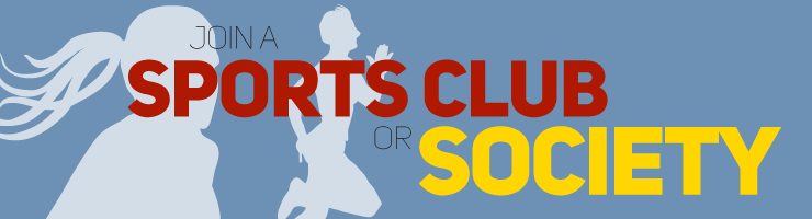 Join a sports club or society
